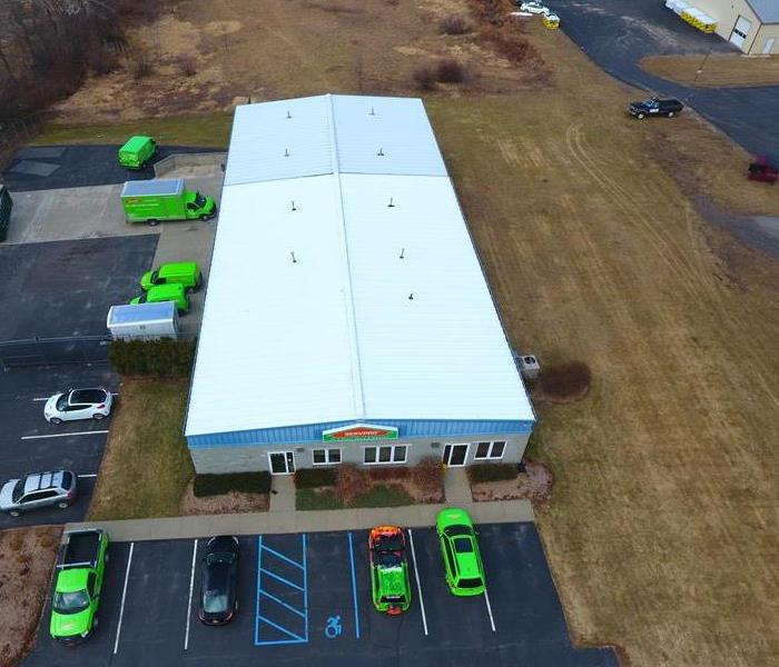 Expansion for SERVPRO of North Orange County Before