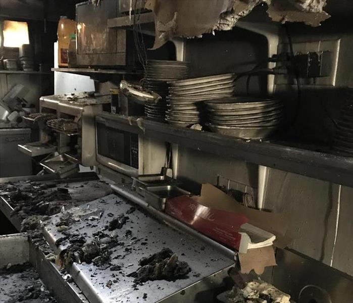 Fire Damage Commercial Fire Damage Restoration in Orange County, NY