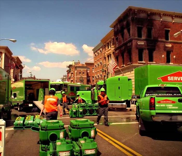 Commercial SERVPRO is Faster to Any Size Disaster